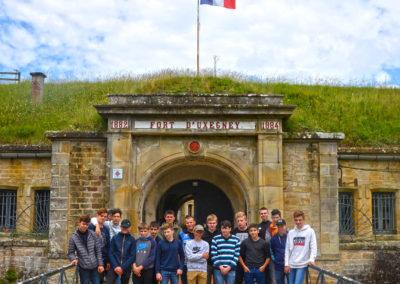 visite du Fort Uxegney