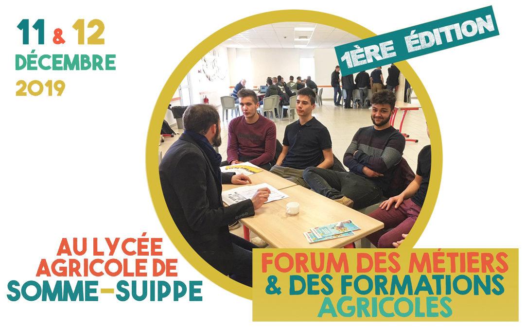 Forum des métiers et des formations agricoles